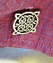 Celtic Design Pewter Cufflinks